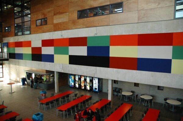 Rockfon® Color-all® Дизайнерские стеновые панели