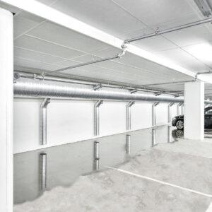 Rockfon® Industrial™ Opal — серые стены
