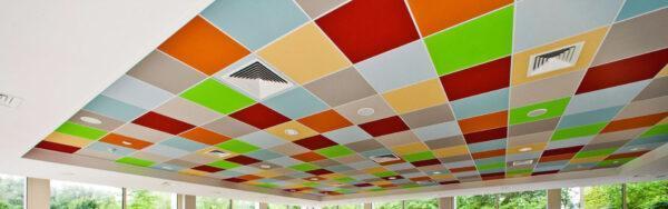 Rockfon® Color-all® — цветные потолки