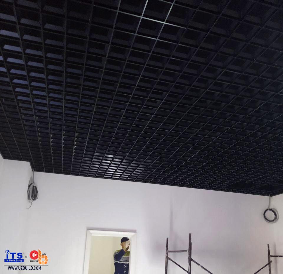 Грильято/Реечный потолок в магазинах/салонах