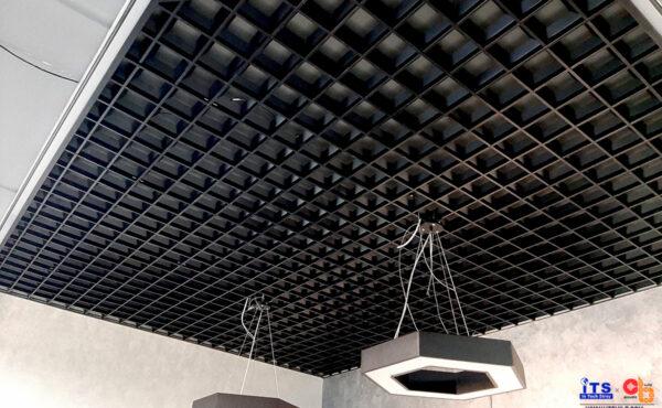 Грильято/Реечный потолок в офисах