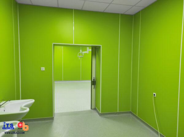 HPL Биоцидный для отделки стен чистых помещений
