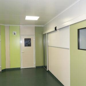 Двери для чистых помещений и мед. учреждений